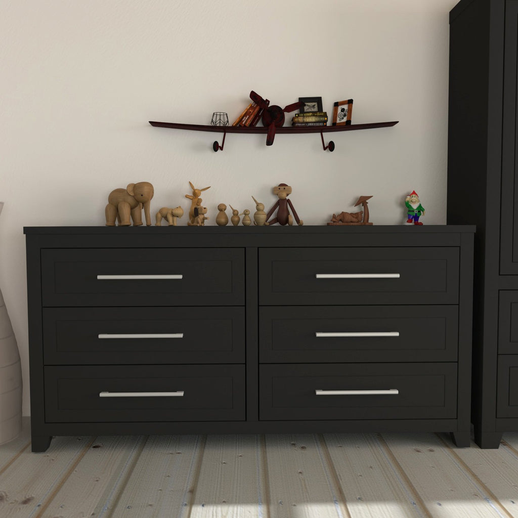 Double Office - 6 Drawers - Emma - Java