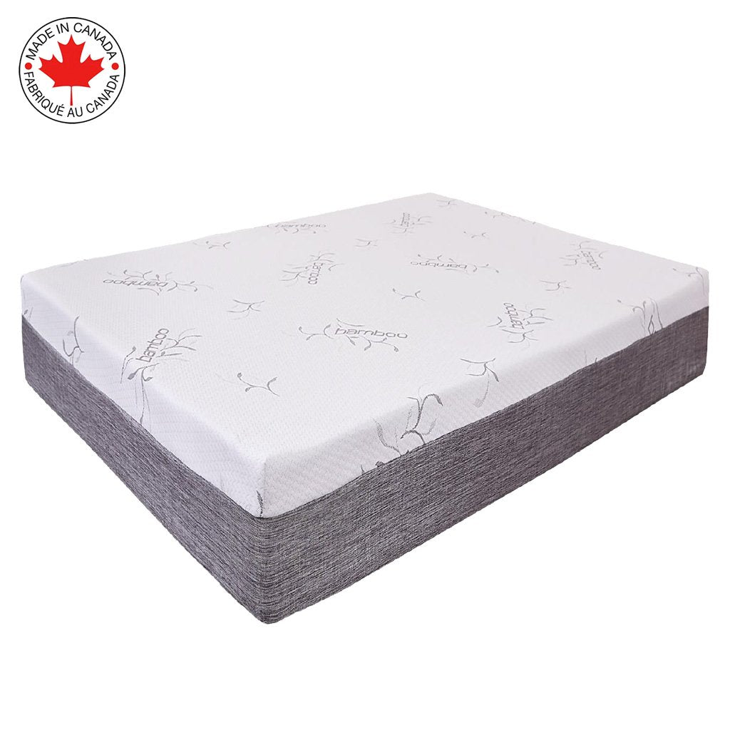 double mattress 8 inches foam gel - Collection Vitality