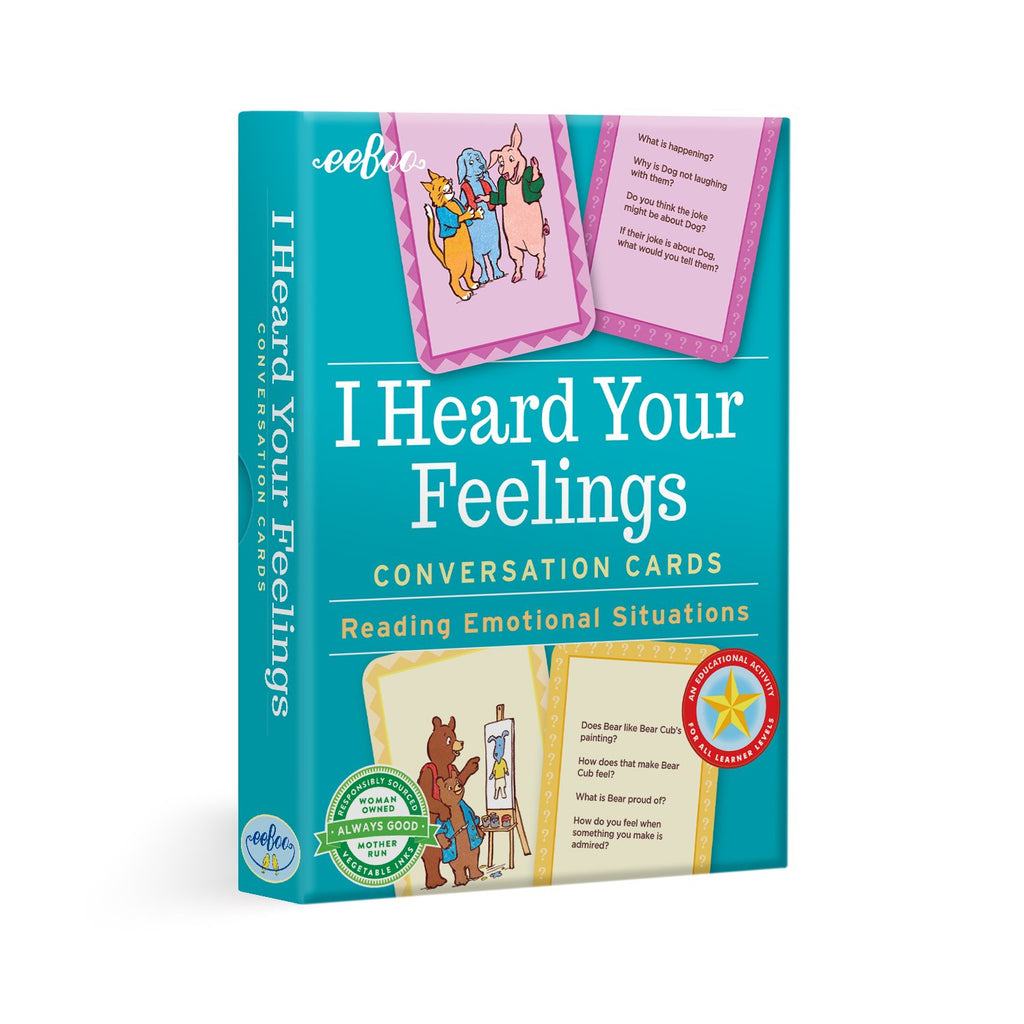 I Heard Your Feelings Conversation Cards