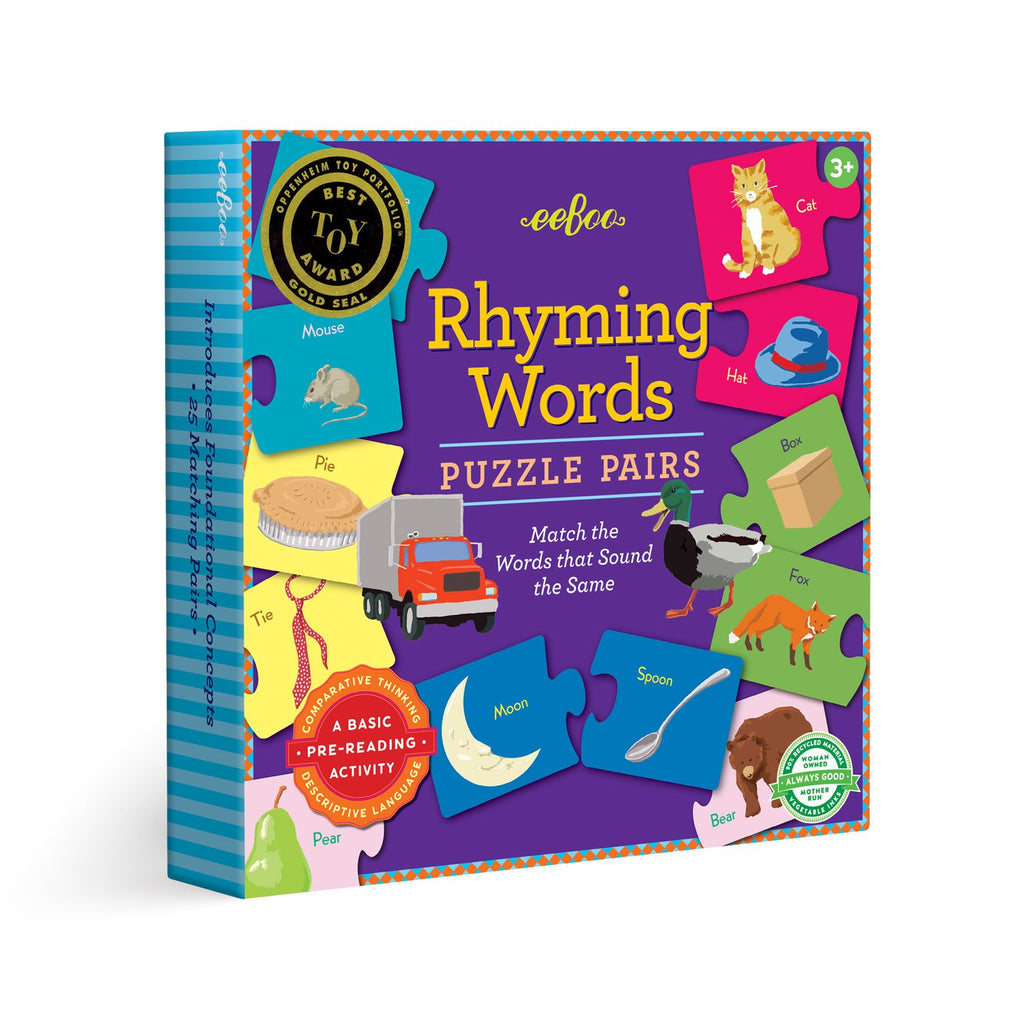 Rhyming Puzzle Pairs