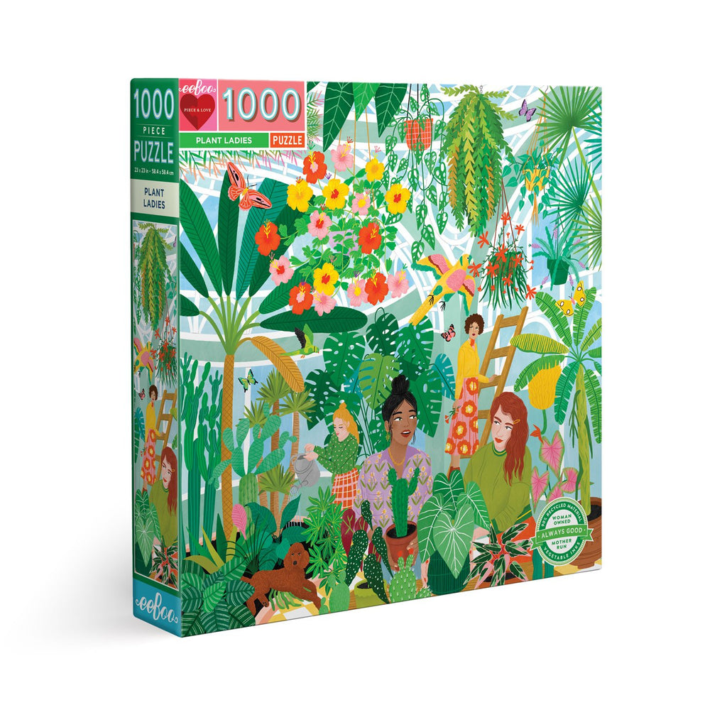 Plant Ladies 1000 Piece Puzzle