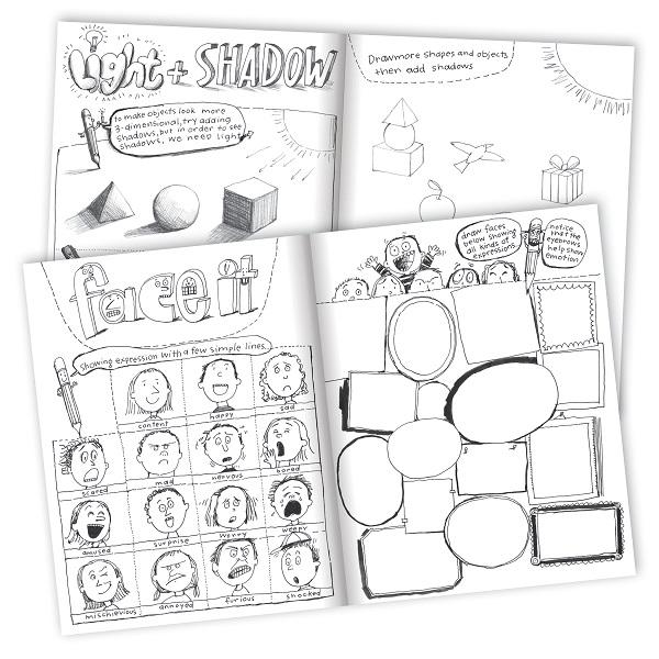 Learn to Draw with Melissa Sweet Art Book