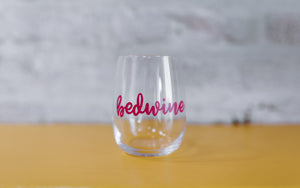 Bedwine Stemless Glass - Pink - bedwine