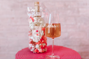 Bedwine Stem Glass - Rose Gold - bedwine