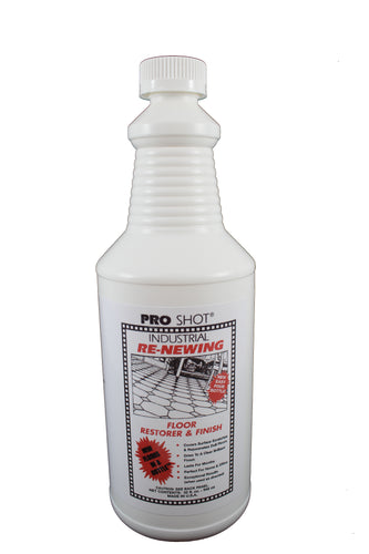 PRO SHOT® Industrial Re-Newing Floor Restorer & Finish 32 oz image