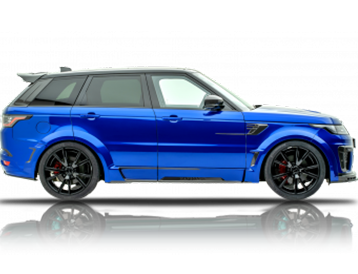 Range Rover SVR For Rent