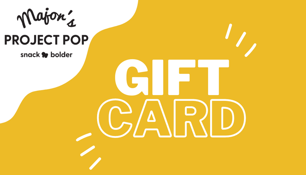 Major's Project Pop Gift Card