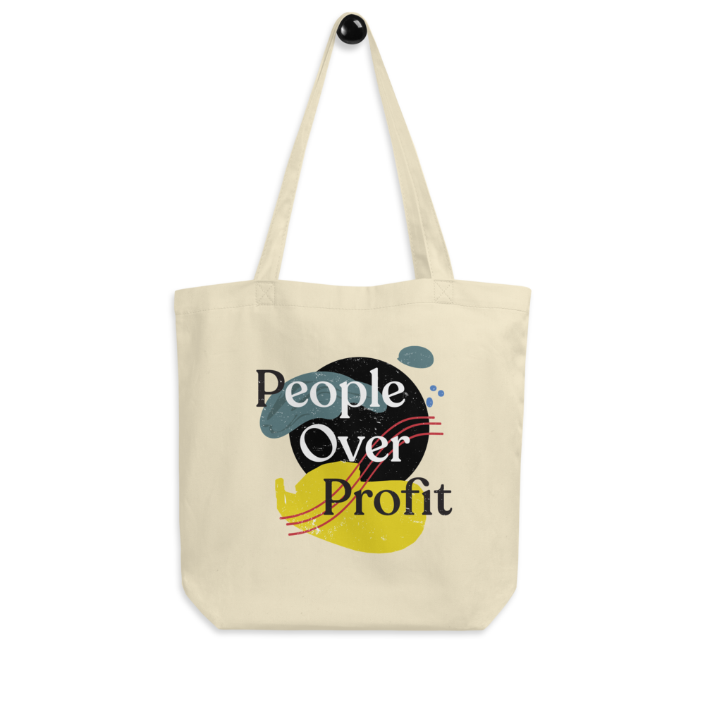 People Over Profit Tote (Shipping Included)