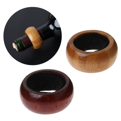 Wood wine Anti-drip ring