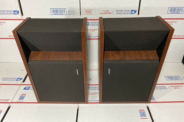 Bose 201 Series II Direct Reflecting Woodgrain Bookshelf Speakers
