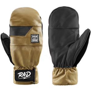 Rad Gloves 2020 Baller Mitten in Caramel