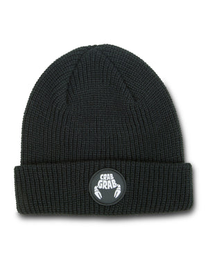 Crab Grab - Circle Patch Beanie