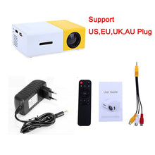 Load image into Gallery viewer, Portable Mini Home Theater Projector LED HDMI USB