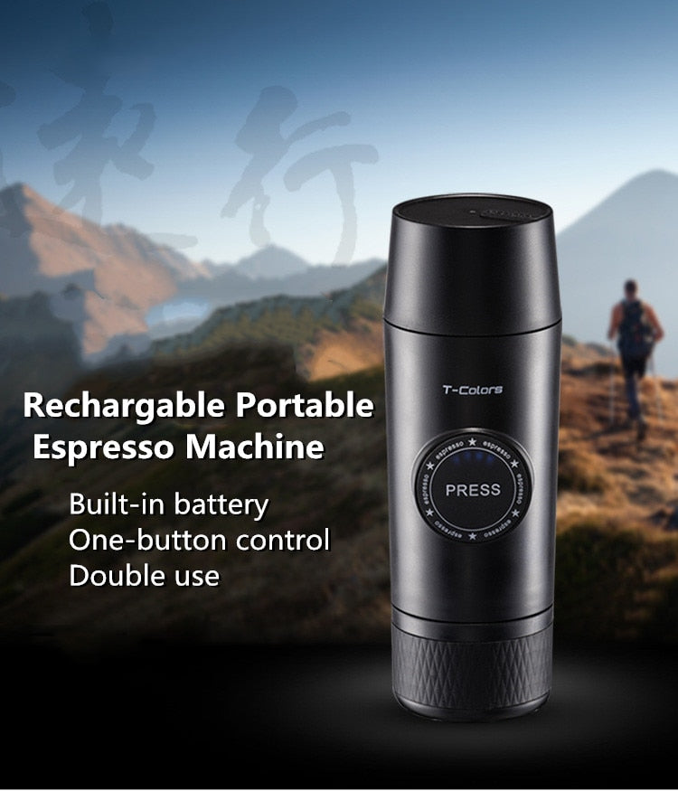 Portable Rechargeable Mini Coffee Maker