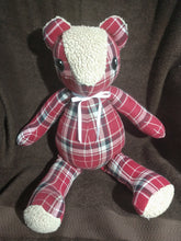 "Load image into Gallery viewer, Custom order memory bear 18"" tall"