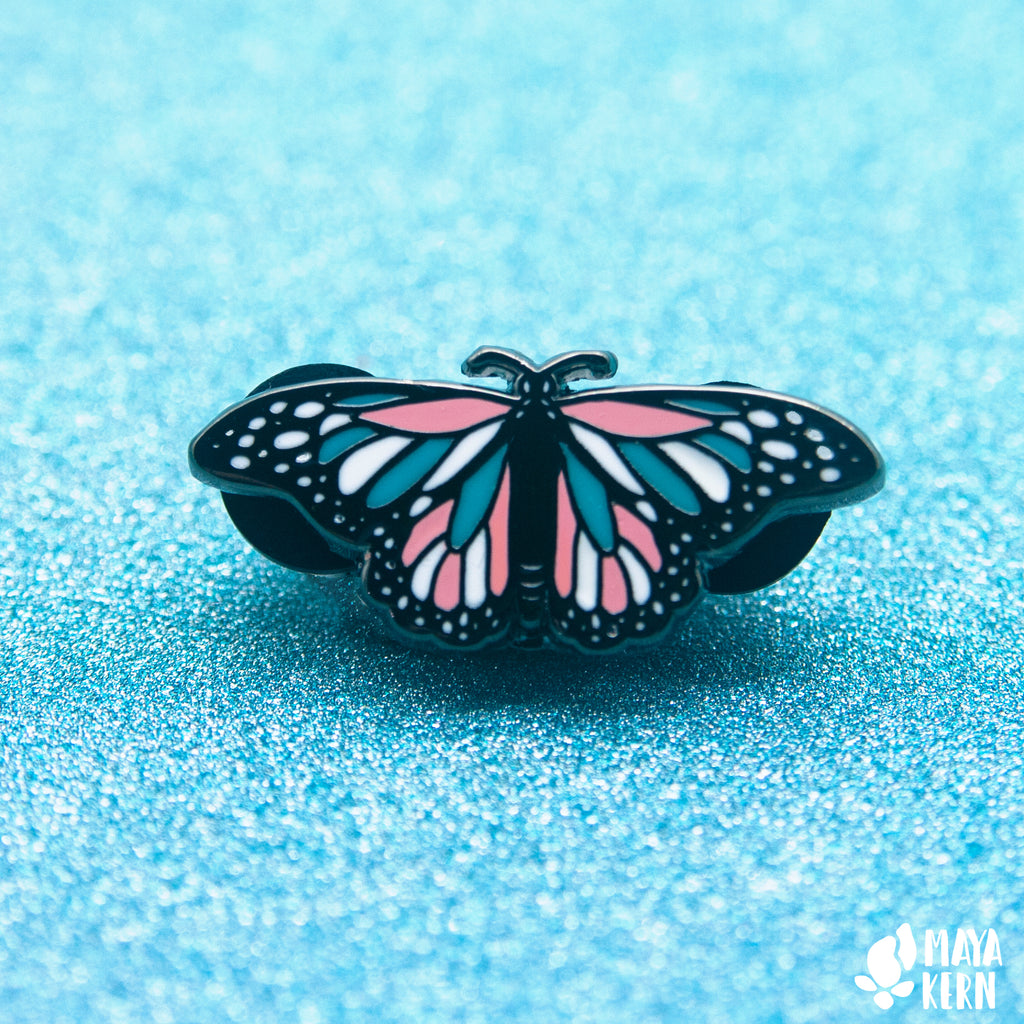 Pride Butterfly Hard Enamel Pin