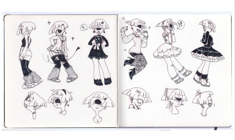 Little Black Sketchbook PDF