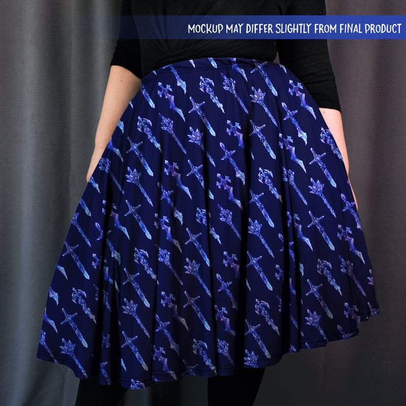 [PREORDER] Swords Midi Skirt