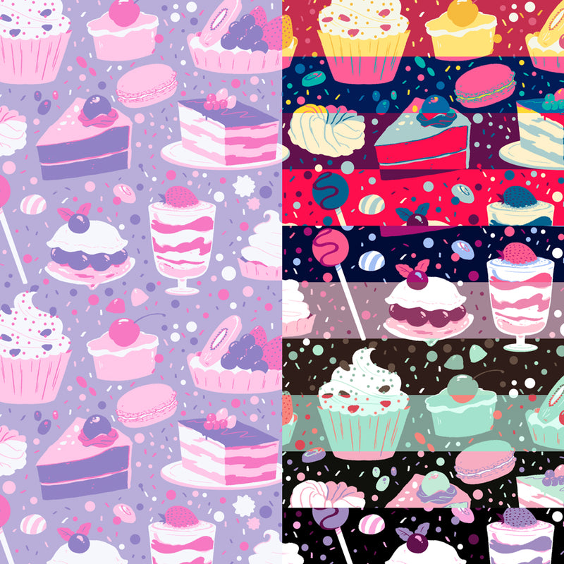 Sweets Pattern Pack