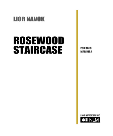 ROSEWOOD STAIRCASE - for Marimba [PDF download]