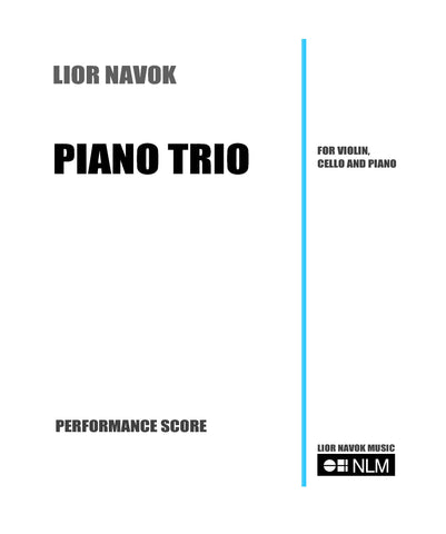 PIANO TRIO - for violin, cello and piano [PDF download]