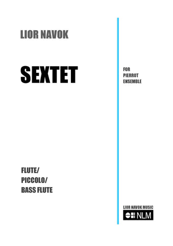 Sextet, sheet music for Pierrot Sextet. Music for pierrot sextet. sheet music, PDF