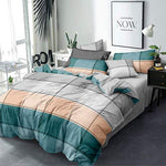 Bedding Set, Bedshet, Pillow Cover and Comforter (4 Piece Set )