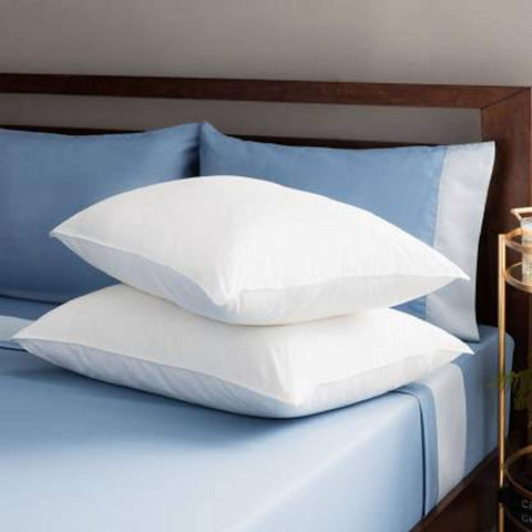 "Ultra Premuim soft and Plush feel 17""x27"" Set of 2 Microfibre Pillow Takia"