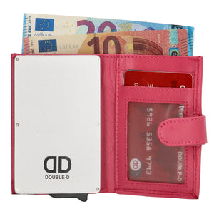 Double-d fh-serie safety wallet Roze