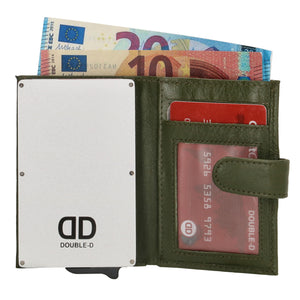 Double-d fh-serie safety wallet Olijf