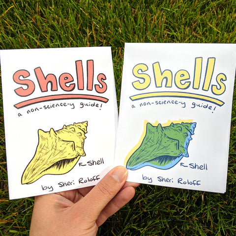Shells Mini Zine - available in two color palettes!