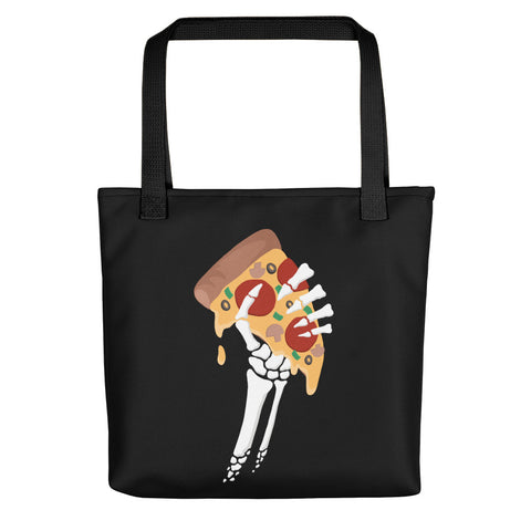 Spooky Pizza Tote Bag