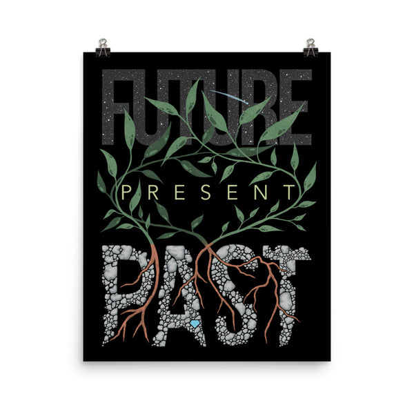 Past, Present, Future Art Print