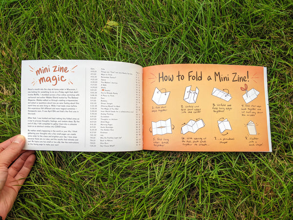Mini Zine Magic - a zine compilation book