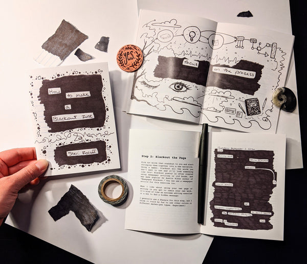 How to Make a Blackout Zine