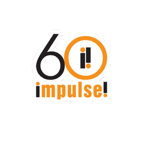 Impulse 60th Anniversary Sticker
