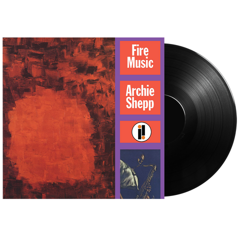 Archie Shepp: Fire Music LP