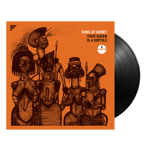 Sons Of Kemet: Your Queen Is A Reptile 2LP