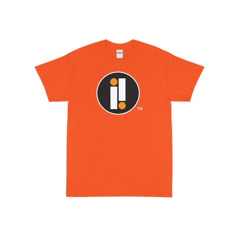 Orange Impulse Iconic Double II T-Shirt