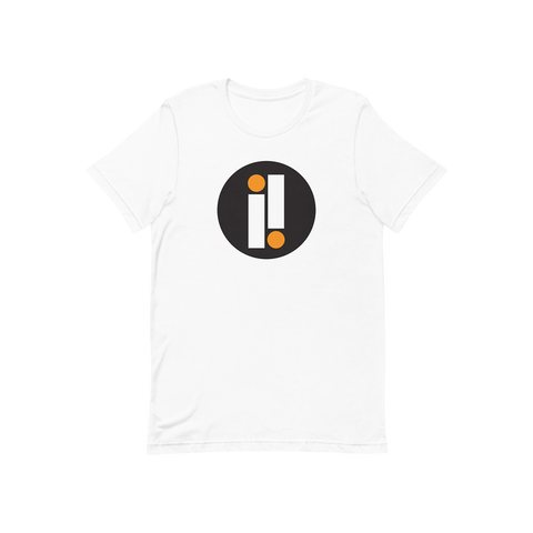 White and Black Impulse Iconic Double II T-Shirt