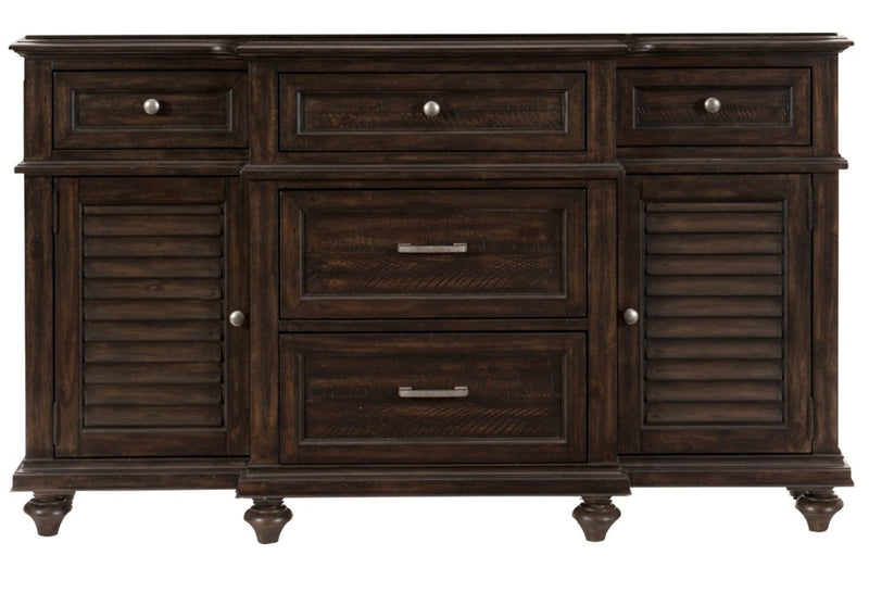 Homelegance Cardano Buffet/Server in Charcoal 1689-55 image