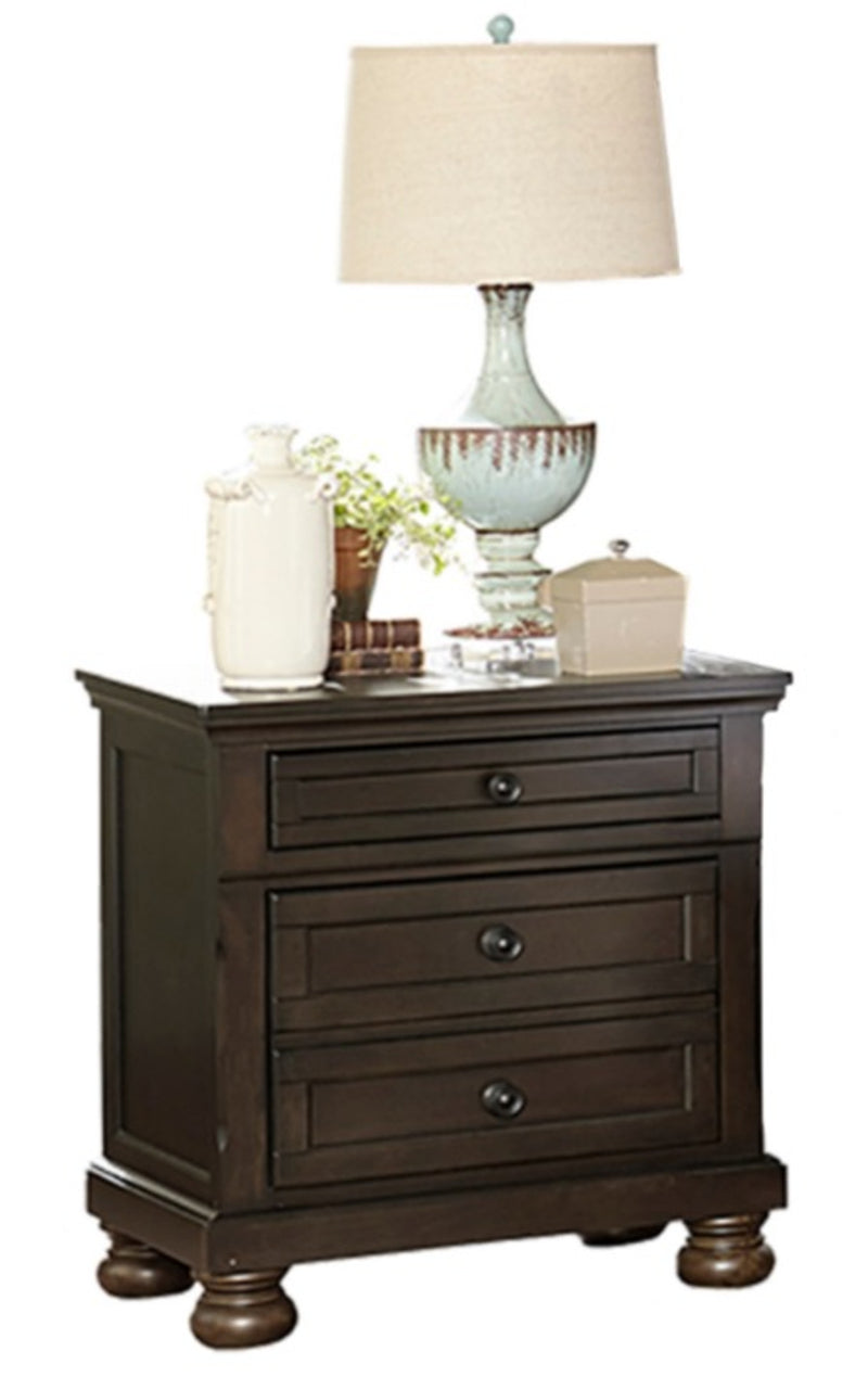 Homelegance Begonia Nightstand in Gray 1718GY-4 image