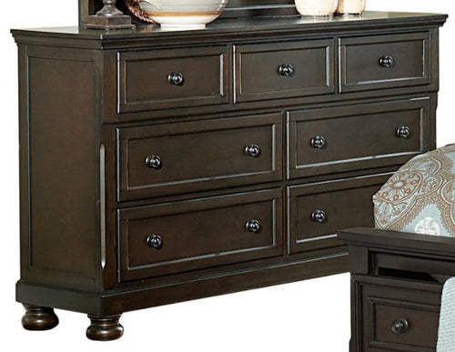 Homelegance Begonia Dresser in Gray 1718GY-5 image