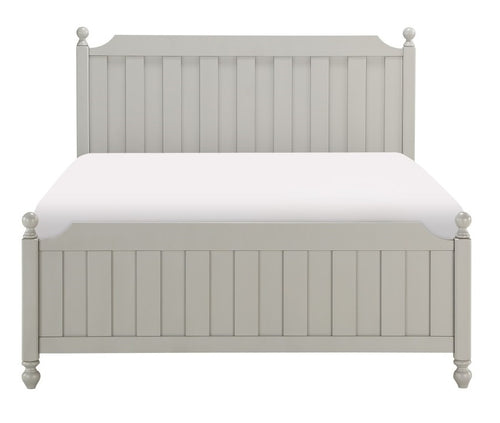 Homelegance Wellsummer Queen Panel Bed in Gray 1803GY-1* image