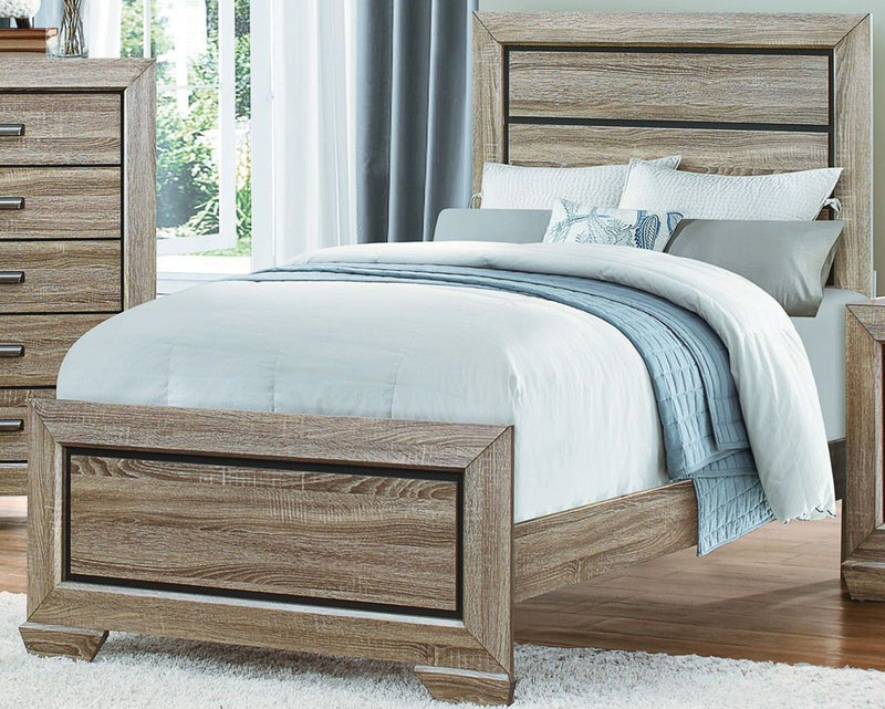 Homelegance Beechnut Twin Bed in Natural 1904T-1 image