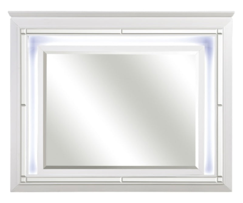 Homelegance Allura Mirror in White 1916W-6 image