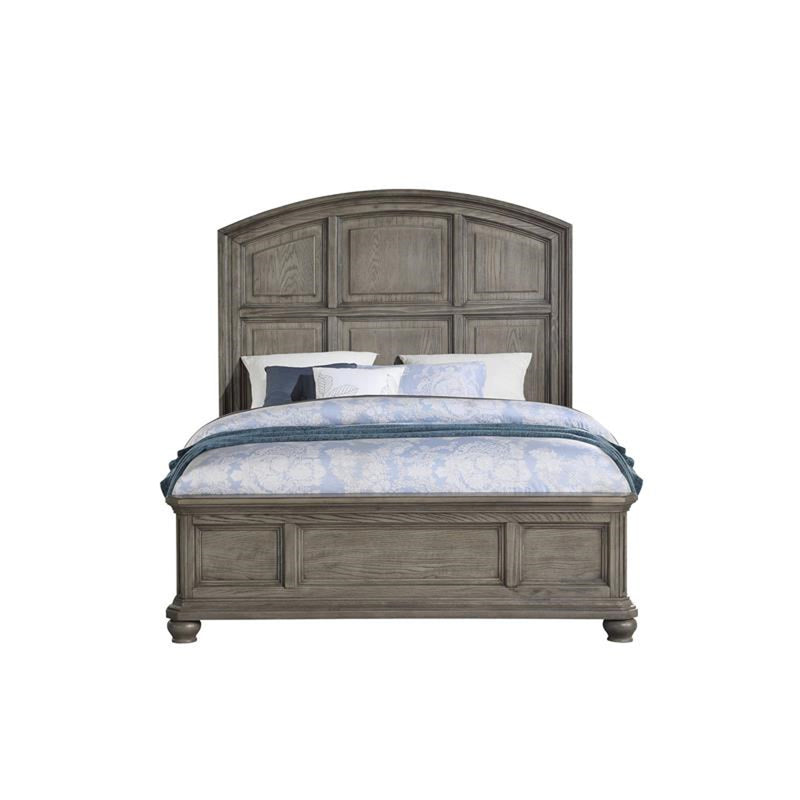 Acme Furniture Kiran California King Panel Bed in Gray 22064CK image