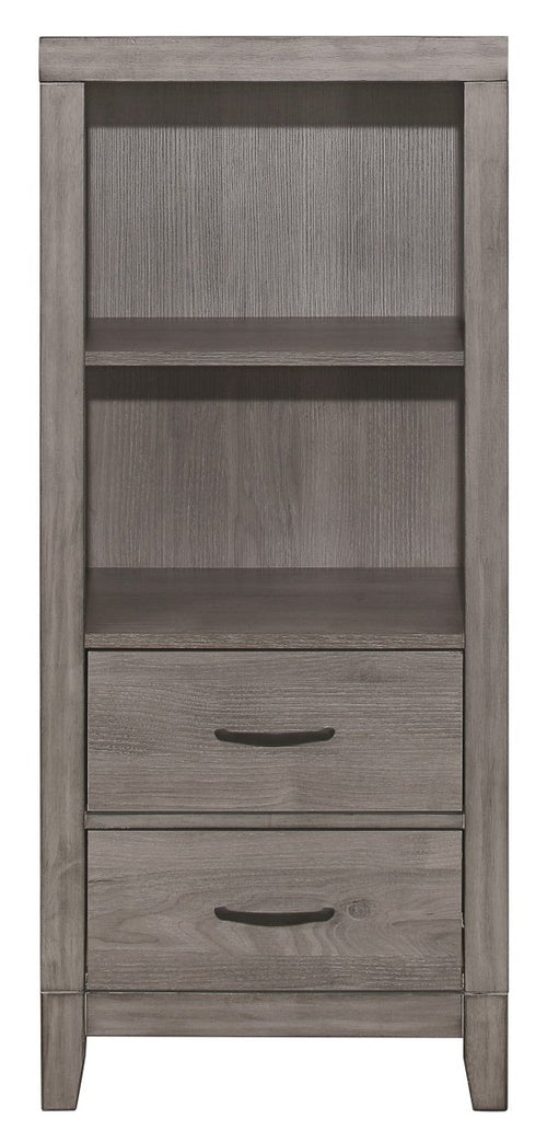 Homelegance Woodrow Pier/Tower Nightstand in Gray 2042NB-10 image