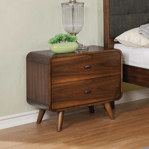 Robyn Dark Walnut Nightstand image