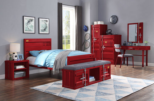 Cargo Red Twin Bed image